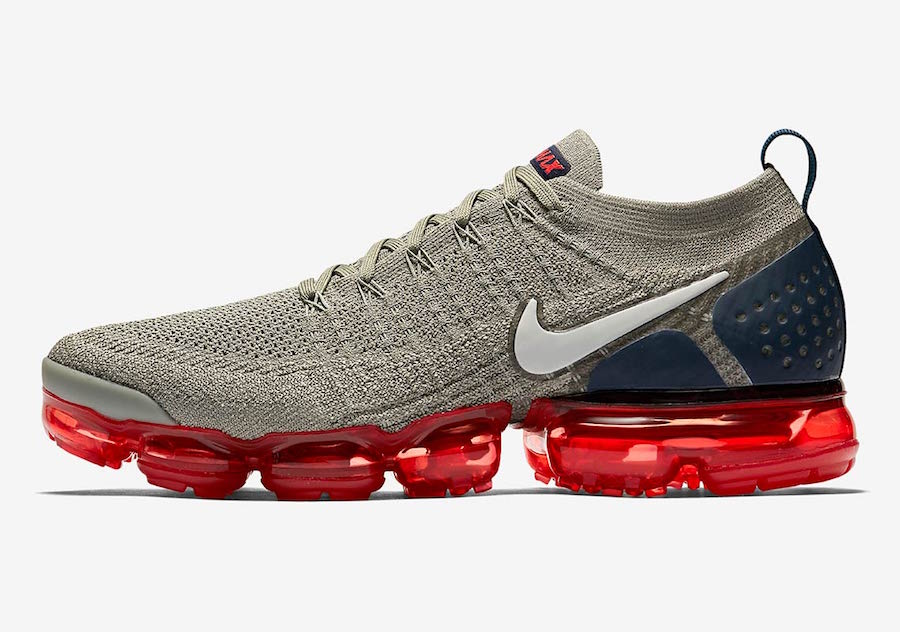 Where To Buy Cheap Nike Air Vapormax 2.0 Dark Stucco Obsidian-Habanero Red 942842-010
