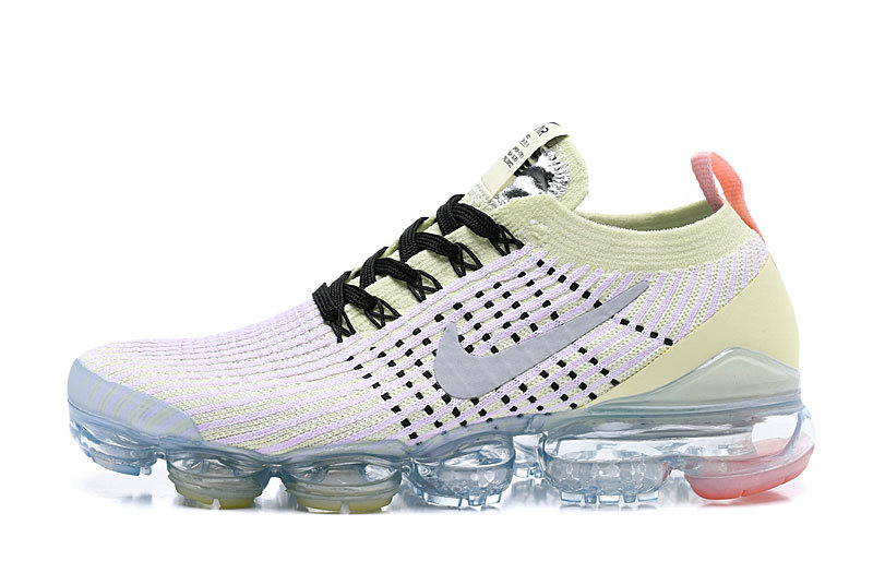 Where To Buy Cheap Nike Air Vapormax 3.0 Flyknit 2019 White Grey Green AJ6900-700