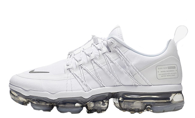 Where To Buy Cheap Nike Air Vapormax Run Utility White Reflect Silver-White-White AQ8811-100