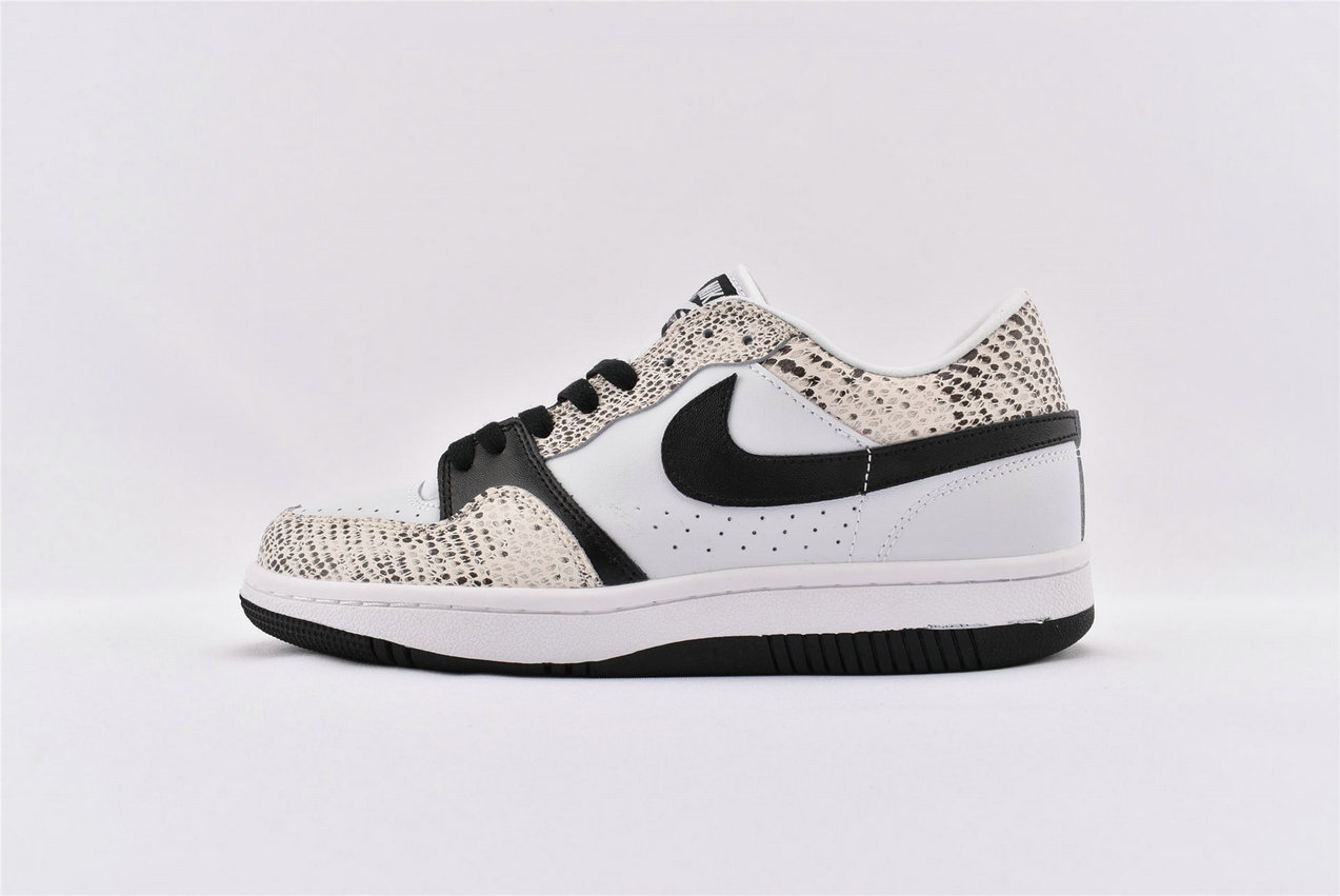 Where To Buy Cheap Nike Court Force Low White Black-Cocoa 314191 101