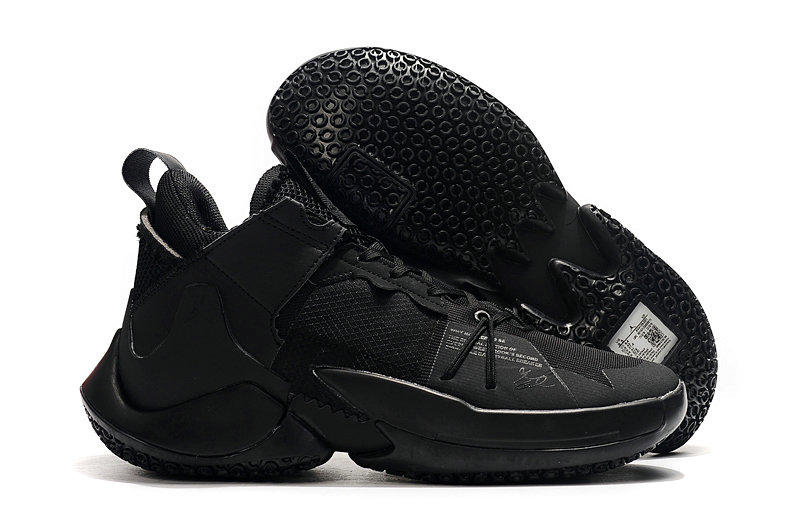 Where To Buy Cheap Nike Jordan Why Not Zer0.2 Triple Black-Black