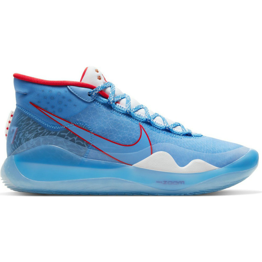 Where To Buy Wholesale Cheap Nike KD 12 Sport Blue Fire Red