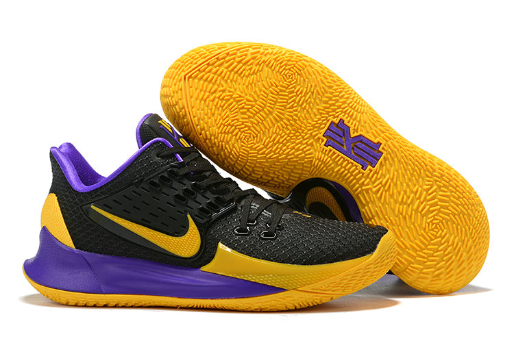 Where To Buy Cheap Nike Kyrie 2 Low Black Purple Yellow