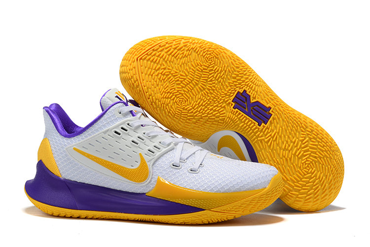 Where To Buy Cheap Nike Kyrie 2 Low Yellow White Purple