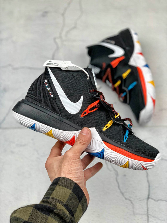 Where To Buy Cheap Nike Kyrie 5 EP Multi Color Metallic Silver Couleur Multiple AO2919-900