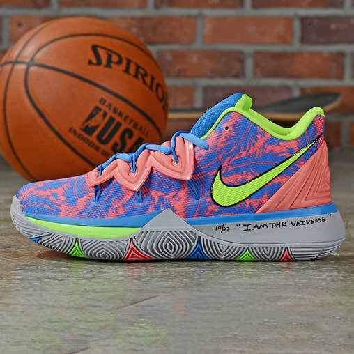 Where To Buy Cheap Nike Kyrie 5 Irving Fluorescent Green Royal Blue Pink