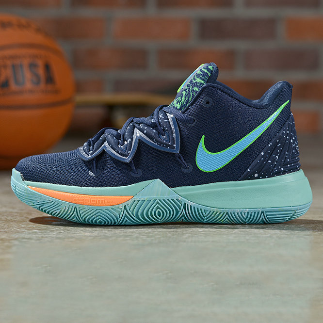 Where To Buy Cheap Nike Kyrie 5 Irving Obsidian Light Current Green-Scream Green AO2918-400