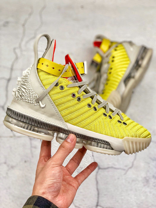 Where To Buy Cheap Nike LeBron 16 Harlem Fashion Row Harlem Stage Bright Citron Summit White CI1144-700