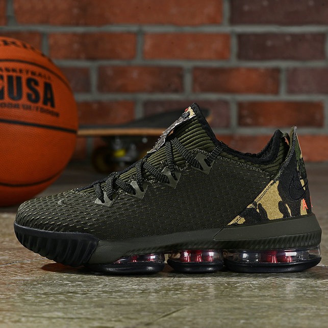 Where To Buy Cheap Nike LeBron 16 Low Camo