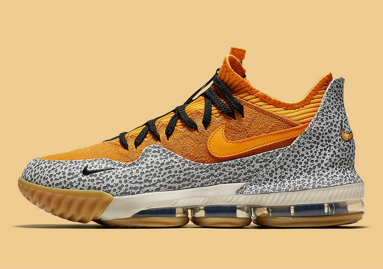 Where To Buy Cheap Nike LeBron 16 Low Safari Kumquat-Kumquat-Black CI3358-800