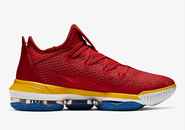 Where To Buy Cheap Nike LeBron 16 Low SuperBron University Red Varsity Royal CK2168-600