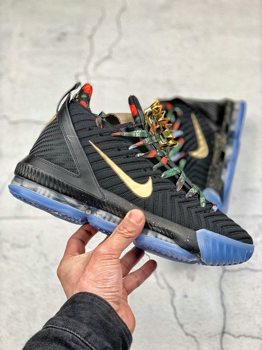 Where To Buy Cheap Nike LeBron James XVI EP Black Metallic Gold Rose Frost Noir Rose Gkace Or Metallique CI1517-001