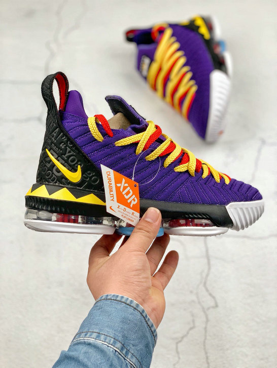 Where To Buy Cheap Nike LeBron XVI EP Court Purple Tour Yellow Violet Court Jaune Tour CI1520-500