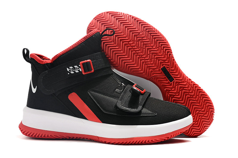 Where To Buy Cheap Nike Lebrons Soldier 13 Rouge Red Black White