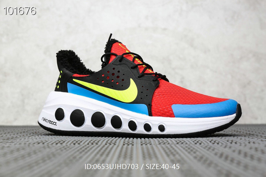 Where To Buy Cheap Nike React Element 87 Cruze Max 2019 Red Black White Blue