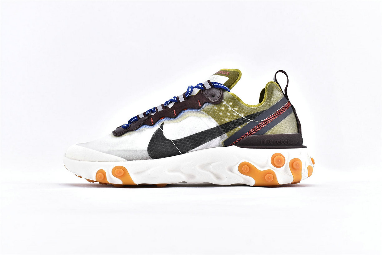 Where To Buy Cheap Nike React Element 87 Undercover Light Beige AQ1090-300