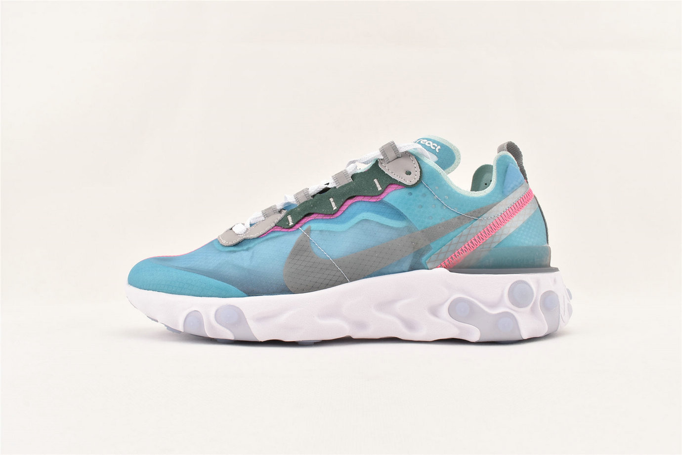 Where To Buy Cheap Nike React Element 87 Undercover Light Beige AQ1090 400