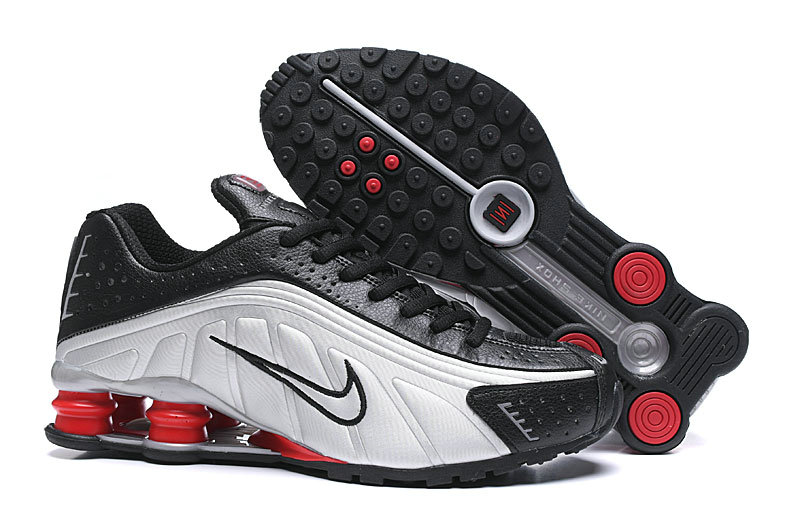 Where To Buy Cheap Nike Shox R4 Black Grey Silver