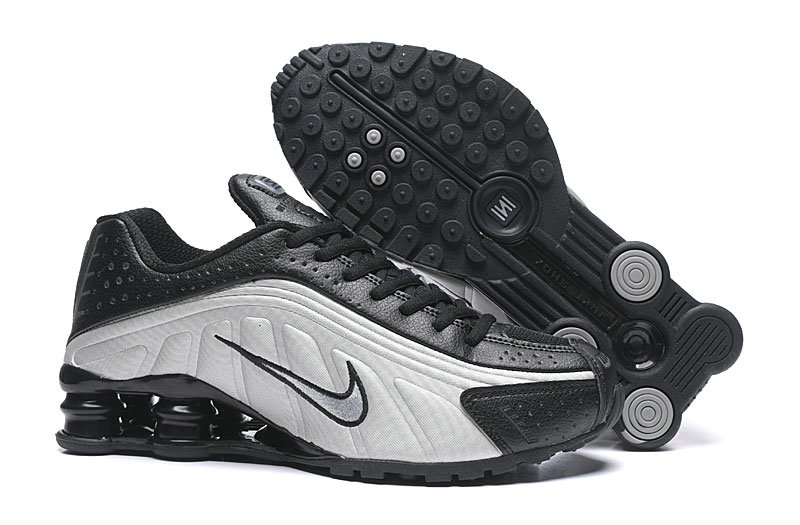 Where To Buy Cheap Nike Shox R4 Black Silver Grey