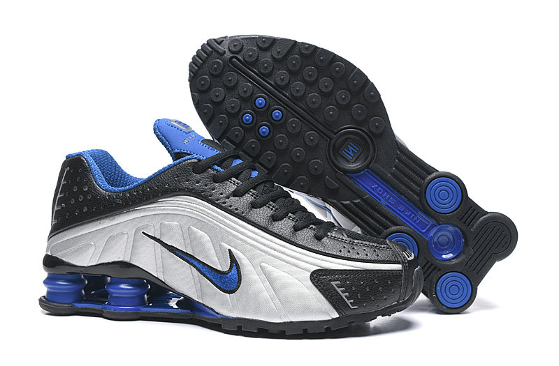 Where To Buy Cheap Nike Shox R4 Black White Blue