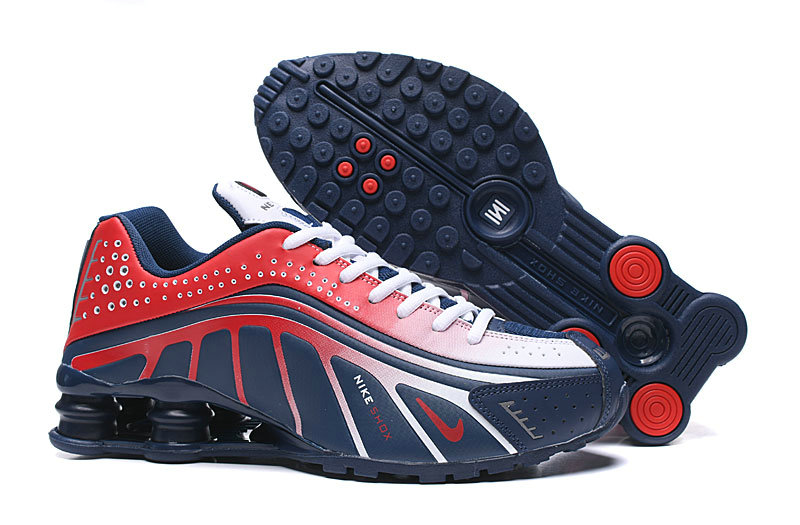 Where To Buy Cheap Nike Shox R4 Dark Blue Red