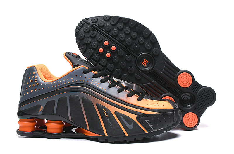 Where To Buy Cheap Nike Shox R4 Orange Black