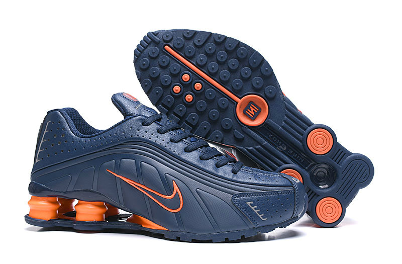 Where To Buy Cheap Nike Shox R4 Orange Blue