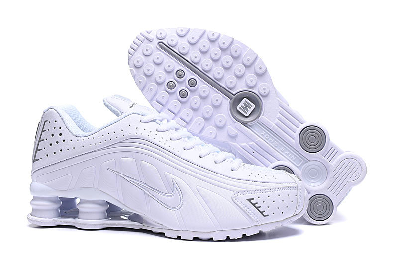 Where To Buy Cheap Nike Shox R4 Triple White