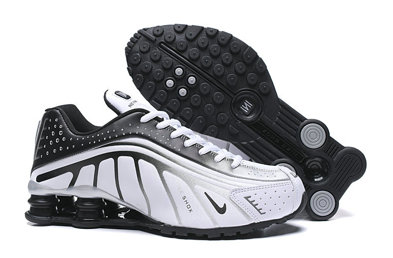 Where To Buy Cheap Nike Shox R4 White Black Grey