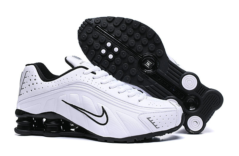 Where To Buy Cheap Nike Shox R4 White Blanc-Black