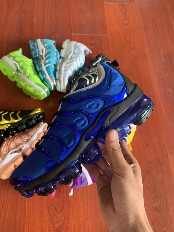 Where To Buy Cheap Nike VaporMax Plus TN Blue Black