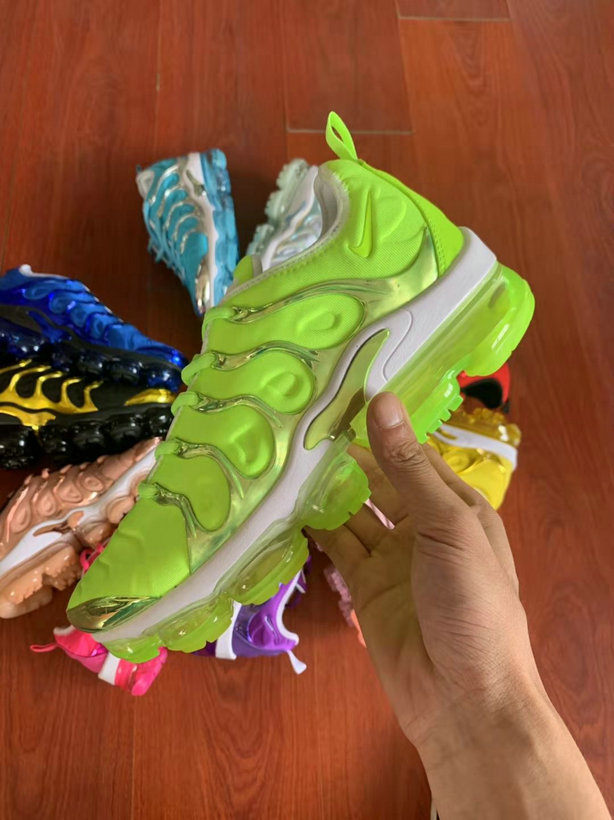 Where To Buy Cheap Nike VaporMax Plus TN Fluorescent Green White