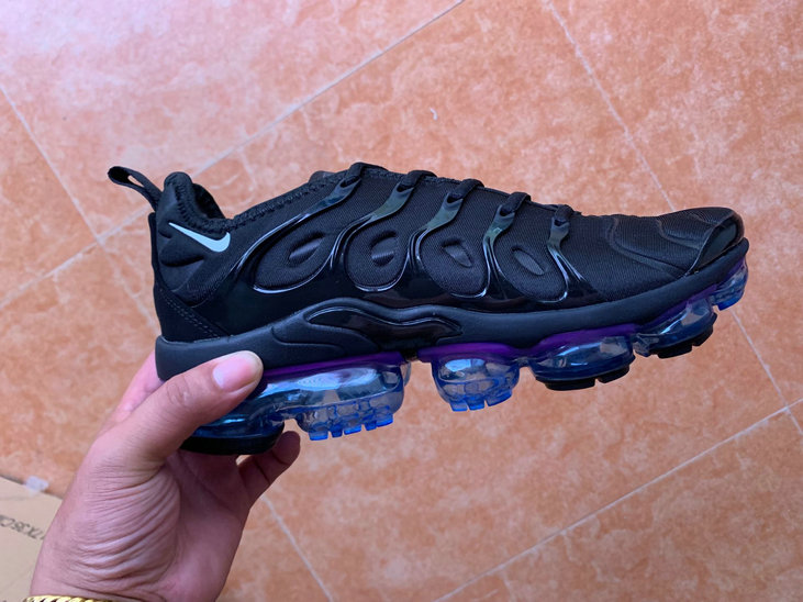 Where To Buy Cheap Nike VaporMaxs Plus Black Purple