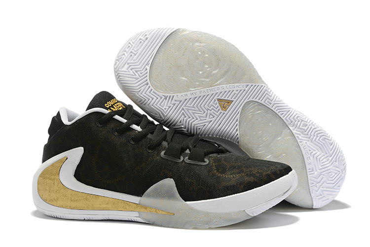 Where To Buy Cheap Nike Zoom Freak 1 Metallic Gold Black White
