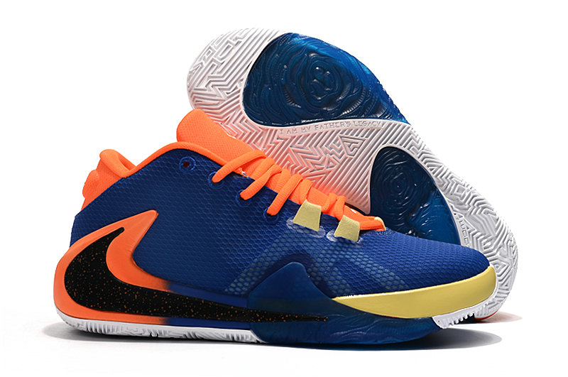 Where To Buy Cheap Nike Zoom Freak 1 Orange Royal Blue Black