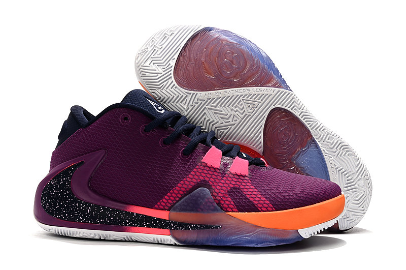 Where To Buy Cheap Nike Zoom Freak 1 Purple Pink Black Orange White