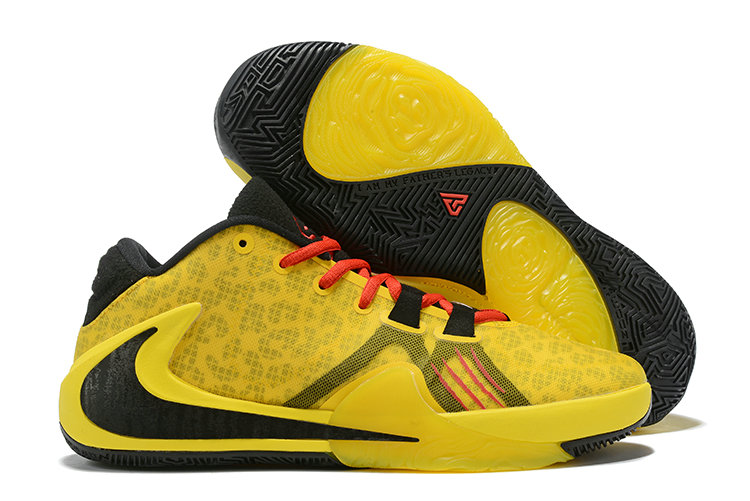 Where To Buy Cheap Nike Zoom Freak 1 Yellow Black Red