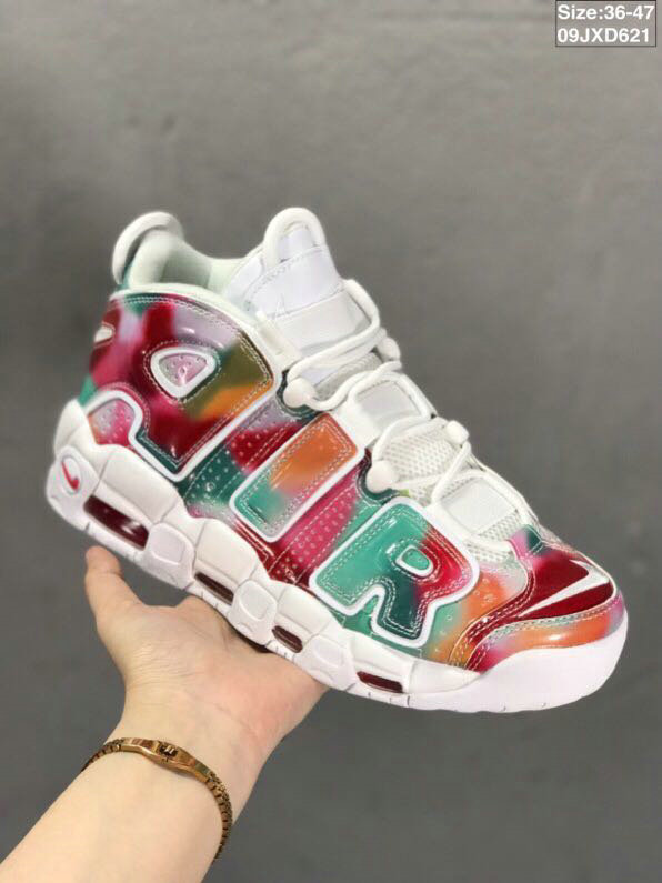 Where To Buy Cheap Nikes Air More Uptempo Colorful White