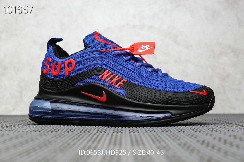 Where To Buy Cheap Supreme x Nike Air Max 97 Royal Blue Red Black