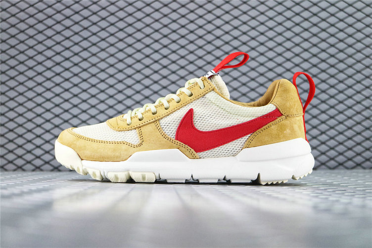 Where To Buy Cheap Tom Sachs x Nike Mars Yard 2.0 Toddler Natural Maple-Sport Red AA2261 100