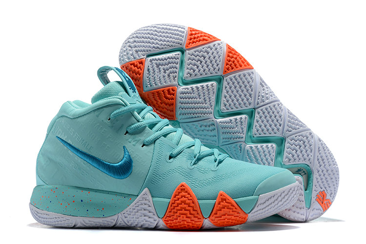 huge selection of f1f7b 13e88 Cheap Wholesale Where To Buy Nike Kyrie 4 Power is Female 943806-402 Light  Aqua