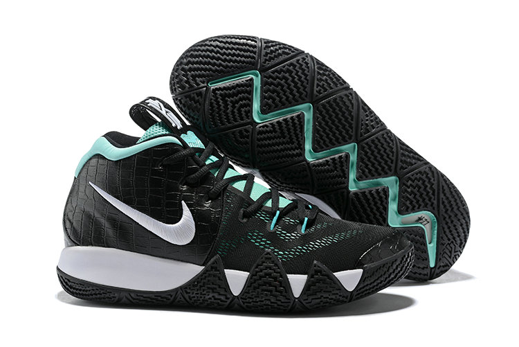 Cheap Wholesale Where To Buy Nike Kyrie 4 Tiffany AA2897-390 Tropical Twist Metallic Silver-White-Gold