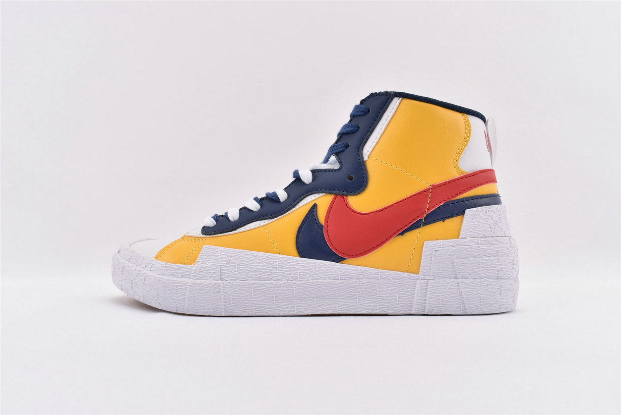 Where To Buy Sacai x Nike Blazer Mid Black University Blue-Sail-White BV0072-001