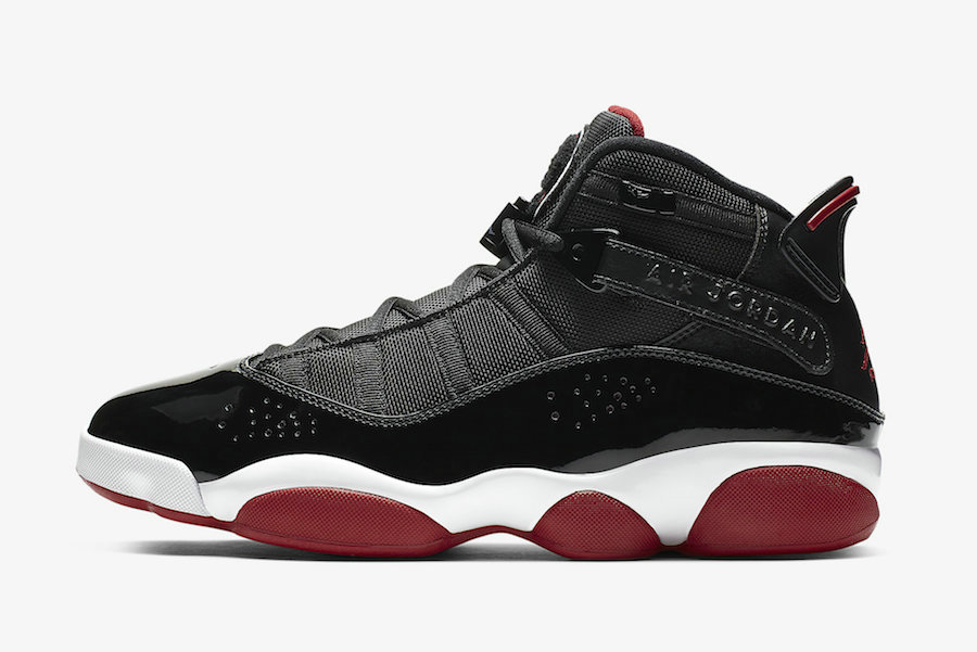 Where To Buy Womens 2020 Wholesale Cheap Nike Air Jordan 6 Rings Black Varsity Red-White 322992-062