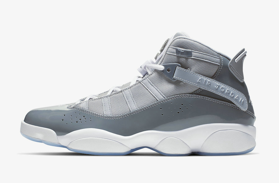 Where To Buy Womens 2020 Wholesale Cheap Nike Air Jordan 6 Rings Cool Grey White-Wolf Grey 322992-015