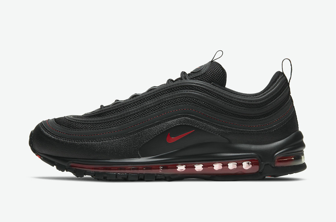 Where To Buy Womens 2021 Cheapest Nike Air Max 97 Reflective Black Red DH4092-001