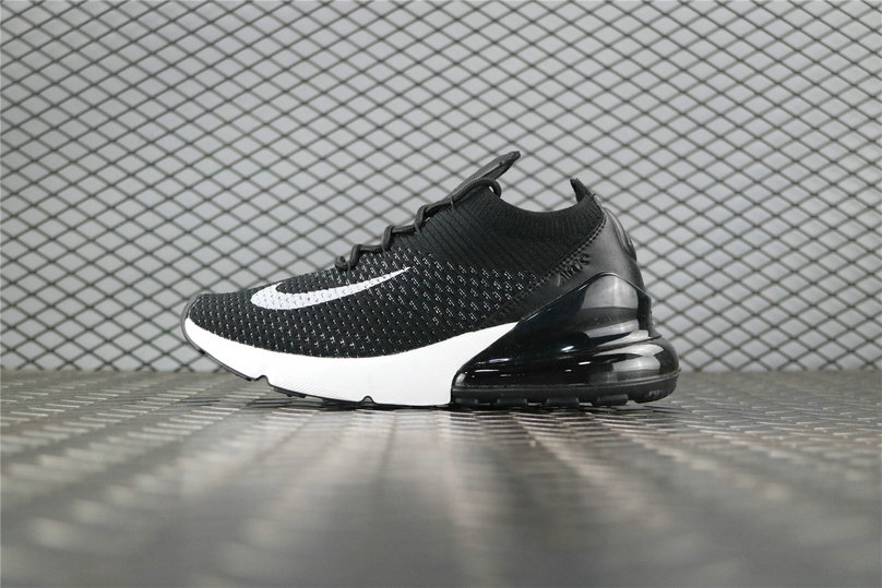 Where To Buy Womens Nike Air 270 Flyknit Black White Blanc AH8050 001