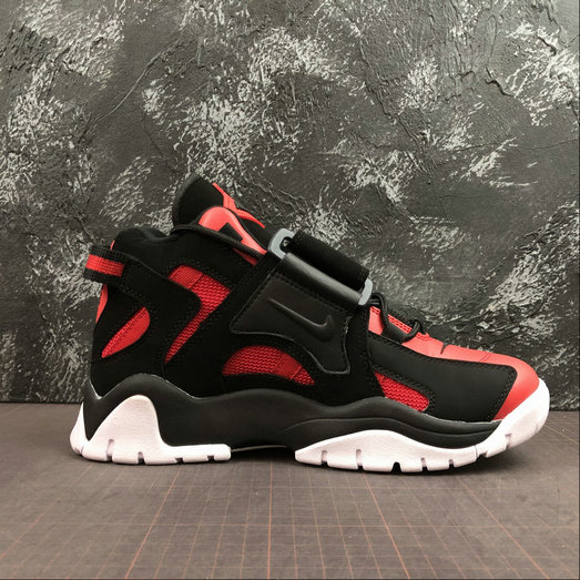 Where To Buy Womens Nike Air Barrage Mid QS University Red Black-White CD9329-006