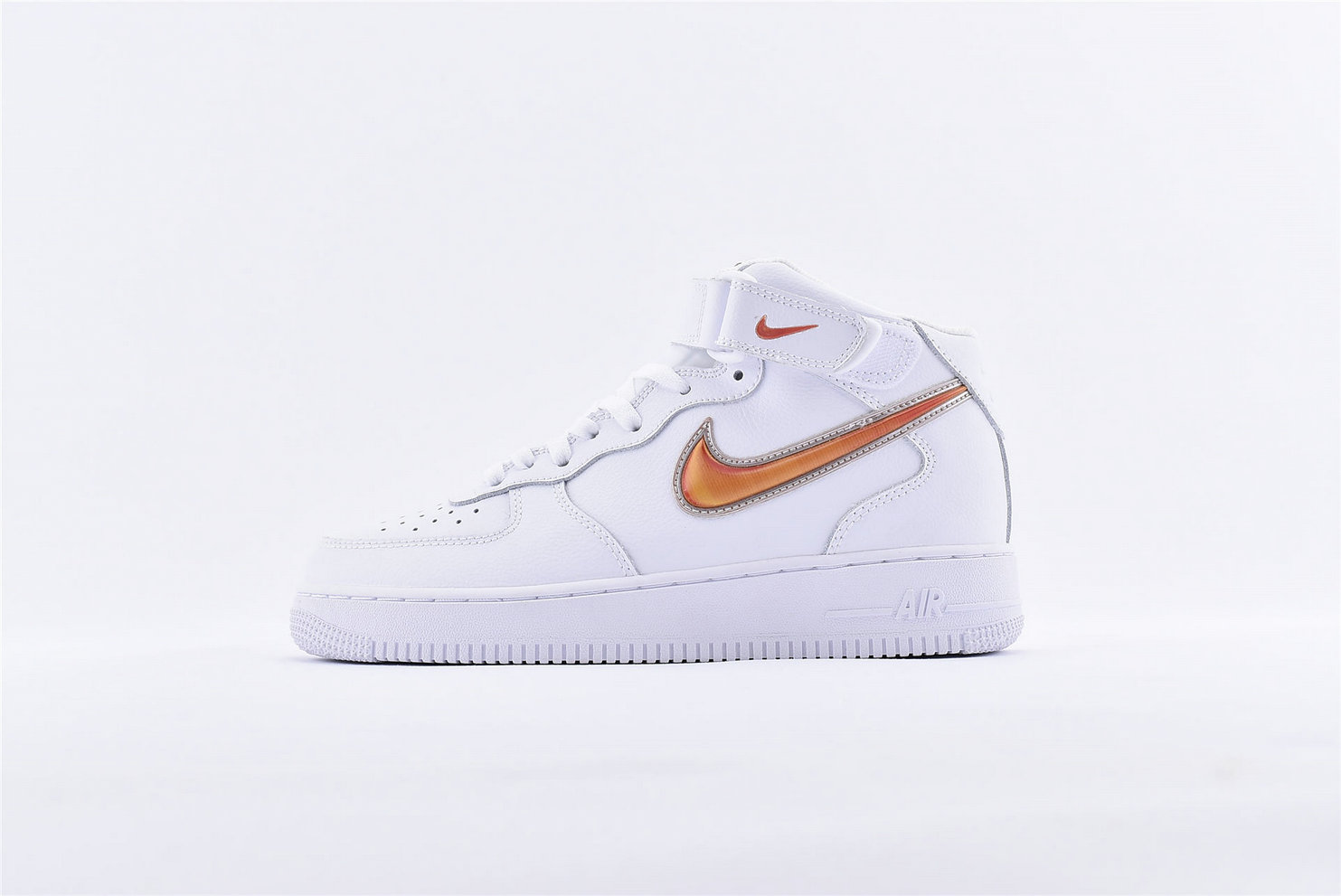 Where To Buy Womens Nike Air Force 1 07 Multi Color Hook Orange Gradien AQ8650-106