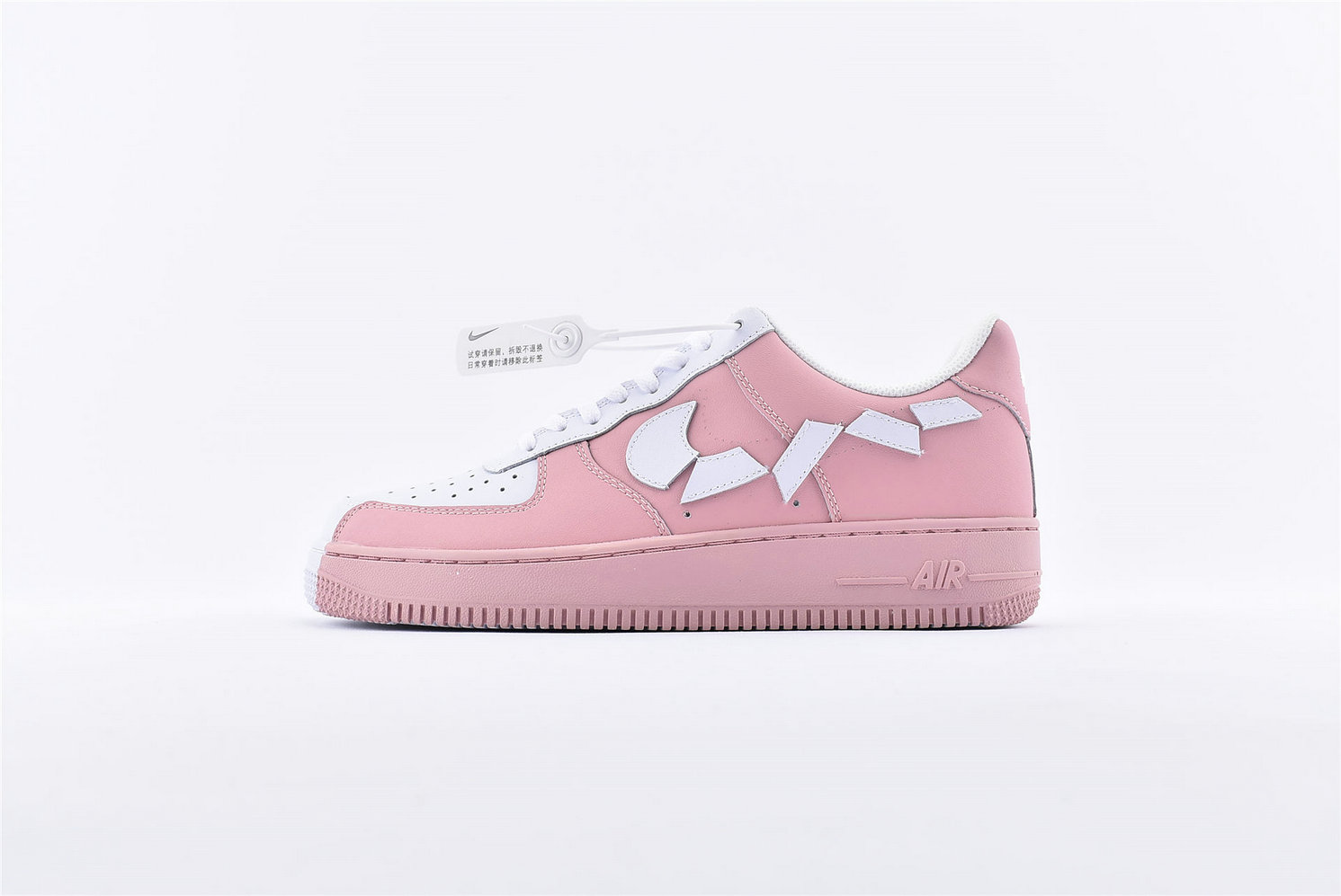 Where To Buy Womens Nike Air Force 1 07 Pink White 315124-600